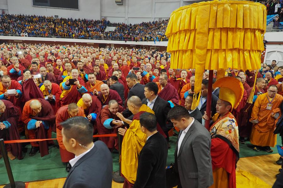 Видео. Специальный репортаж. Далай-лама в Монголии (2016)