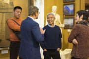 Геше Туптен Джинпа посетил общественный Музей имени Н.К. Рериха