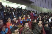 Слушатели на лекции Его Святейшества далай-ламы для молодежи в Центральном дворце культуры. Улан-Батор, Монголия. 22 ноября 2016 г. Фото: Игорь Янчеглов (фонд «Сохраним Тибет»)