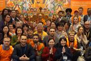 Фотографии российских паломников с Его Святейшеством Далай-ламой. Дели – 2016