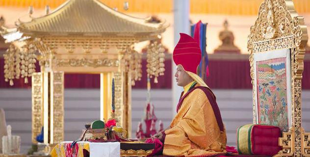 Прямая трансляция. Кагью монлам и учения Кармапы