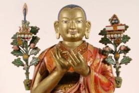 В Бурятии открылась выставка скульптора-основателя первой школы буддийской деревянной скульптуры