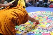 Монахи Дрепунг Гоманга возвели в Центральном хуруле Калмыкии мандалу Зеленой Тары