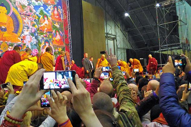 Евгений Касатка. Как я был на учениях Далай-ламы в Риге
