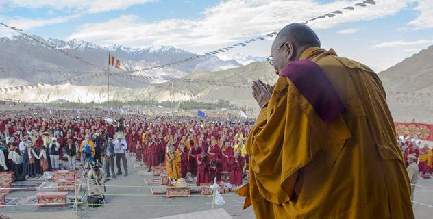 Прямая трансляция. Учения Его Святейшества Далай-ламы в Ле (Ладак)