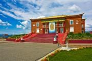 В дацане «Ринпоче Багша» провели праздничный Майдари-хурал и освящение статуи Чже Цонкапы