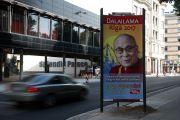 Фоторепортаж. Рига готовится к приезду Его Святейшества Далай-ламы