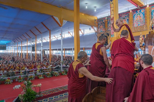 Объявлена программа учений Его Святейшества Далай-ламы в Бодхгае