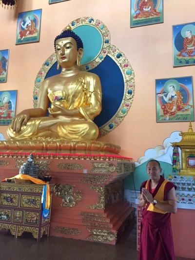 Геше Нгаванг Тукдже дарует в Москве учения по буддийской тантре