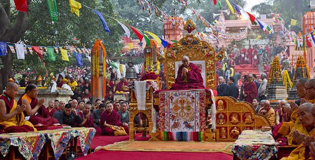 Открывается регистрация на учения Его Святейшества Далай-ламы в Бодхгае