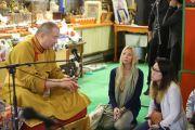 Тэло Тулку Ринпоче даровал учение в калмыцком буддийском храме городка Хауэлл штата Нью-Джерси