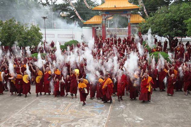 Официальная делегация монастыря Дрепунг Гоманг вновь посетит Россию