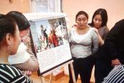 Фотовыставка, посвященная о Его Святейшеству Далай-ламе, путешествует по удаленным уголкам Тувы