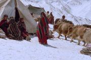 Любовь тибетцев к узорам в полоску просто безгранична.