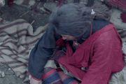 Мужское одеяло кан-па-ли (тиб. kang pa li), используемое во время путешествий.