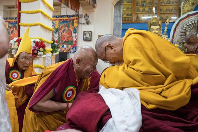 В Дхарамсале состоялся молебен о долголетии Его Святейшества Далай-ламы