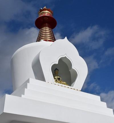 У Ступы Просветления в Отрадном состоятся буддийские ритуалы
