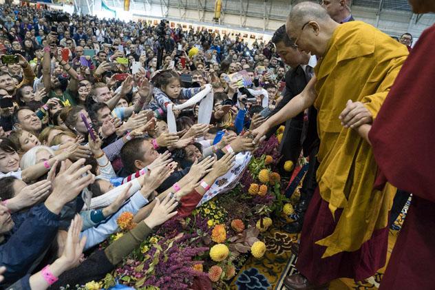 Его Святейшество Далай-лама дарует учения в Риге  в июне