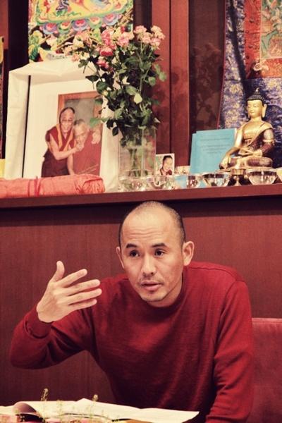 Геше Нгаванг Тукдже начинает цикл буддийских учений в Москве