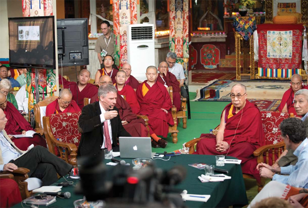 Мозг Будды. Кристоф Кох о встрече с Его Святейшеством Далай-ламой и научных исследованиях медитации