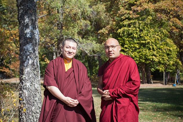Его Святейшество Оргьен Тринлей Дордже и Его Святейшество Тринлей Тхайе Дордже выпустили совместное заявление