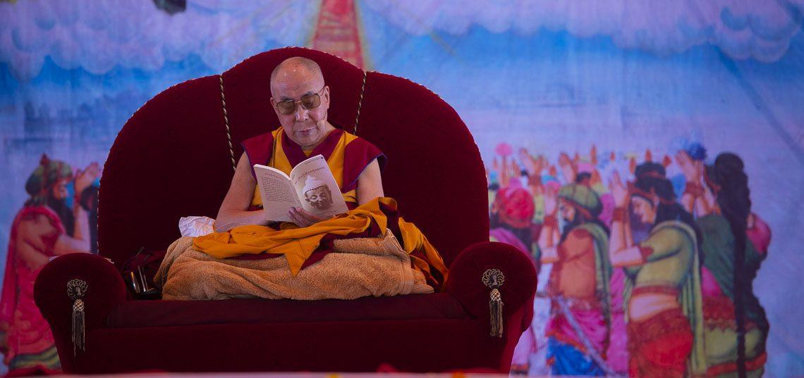 Прямая трансляция. Далай-лама. Учения по сочинению Шантидевы «Бодхичарья-аватара»