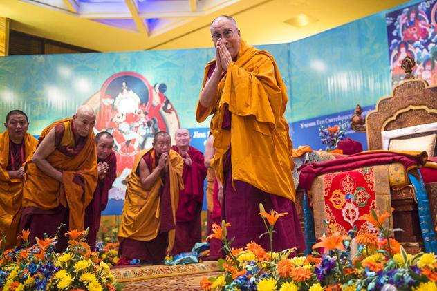 Его Святейшество Далай-лама проведет Учения для буддистов России в Дели