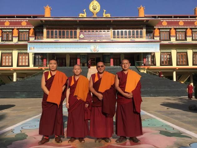 Официальная делегация монастыря Дрепунг Гоманг проведет в Москве месяц ритуалов