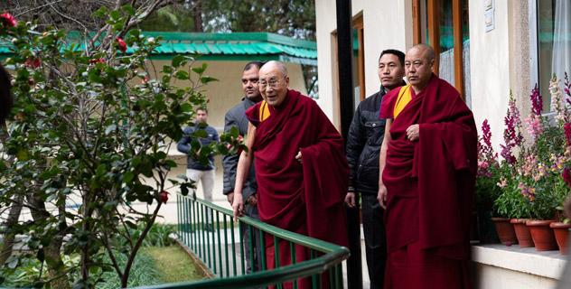 Далай-лама. Новогоднее поздравление