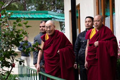 Фоторепортаж. В Дхарамсале Далай-лама встретился с пожилыми тибетцами