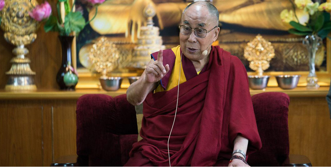 Прямая трансляция. Далай-лама. Диалог с группой Дипака Чопры