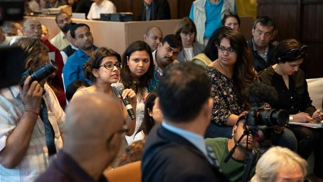 Далай-лама провел пресс-конференцию, приуроченную к международной презентации программы СЭЭО