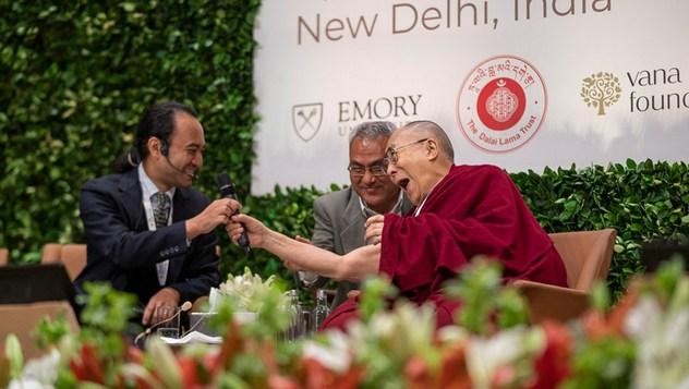 Далай-лама принял участие в международной презентации программы СЭЭО