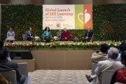 Доктор Тиралинн Фрейзер рассказывает о структуре онлайн-платформы СЭЭО. Нью-Дели, Индия. 6 апреля 2019 г. Фото: Тензин Чойджор.