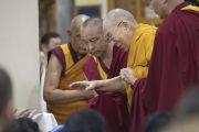 Фоторепортаж. Прекрасные мгновения учений Его Святейшества Далай-ламы в Дхарамсале