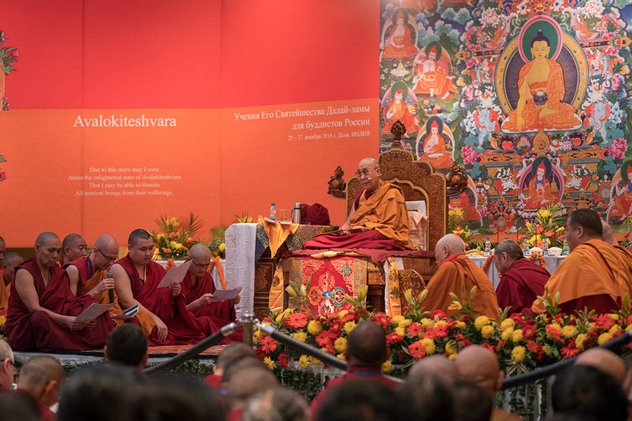 Учения Его Святейшества Далай-ламы для буддистов России — 2016. Все материалы