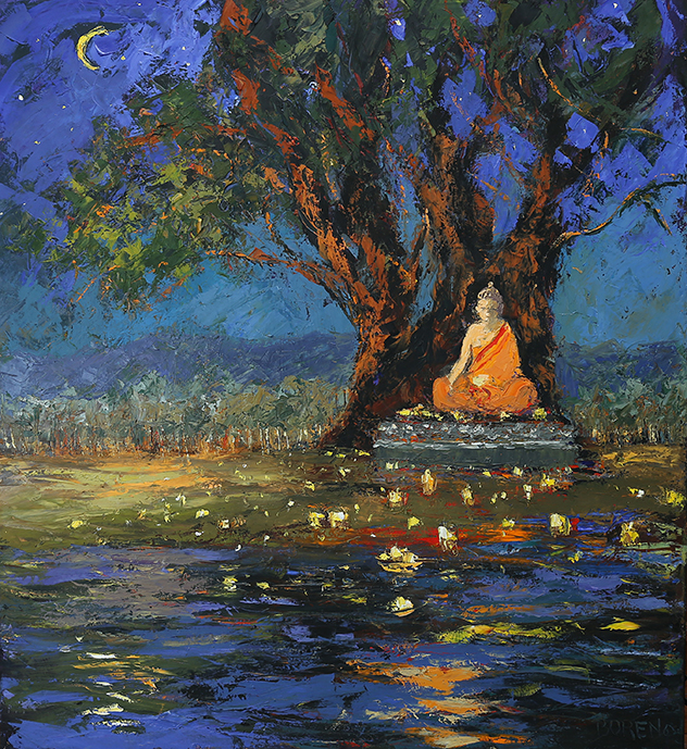 С днем рождения, пробуждения и паринирваны Будды!
