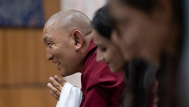 Далай-лама встретился с представителями, сотрудниками и студентами фонда «Тонглен»