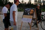 В Кызыле по случаю дня рождения Далай-ламы прошла фотовыставка «Покуда длится пространство...»