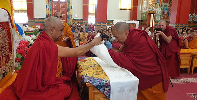 Россию посетит действующий настоятель монастыря Дрепунг Гоманг