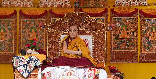 Прямая трансляция. Учения Его Святейшества Далай-ламы в Манали