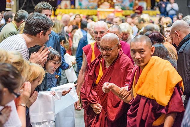 Лама Сопа Ринпоче дарует в Москве учения о бодхичитте