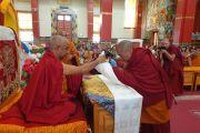 В Калмыкию прибыл действующий настоятель монастыря Дрепунг Гоманг