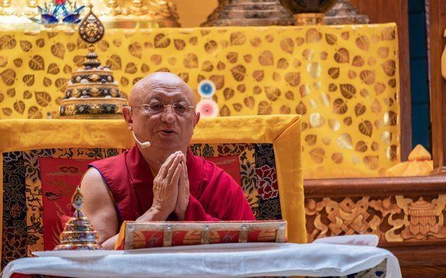 XXI век – век буддизма. Интервью с Чокьи Ньима Ринпоче