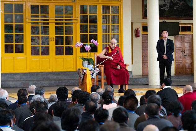 Далай-лама встретился с делегатами 3-го специального генерального собрания ЦТА