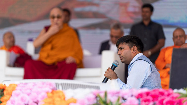 Далай-лама даровал учения буддистам индийского штата Махараштра