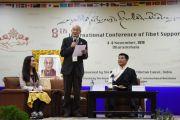 Открытый форум с президентом Центральной тибетской администрации Лобсангом Сенге. Дхарамсала, Индия. 3 ноября 2019 г. Фото: Тензин Джигме (ЦТА).