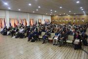 Делегаты Восьмой международной конференции групп поддержки Тибета во время заключительной сессии. Дхарамсала, Индия. 5 ноября 2019 г. Фото: Тензин Пхенде (ЦТА).