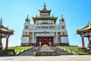 В Центральном хуруле Калмыкии «Золотая обитель Будды Шакьямуни» продолжаются ритуалы, направленные на улучшение здоровья, устранение препятствий и скорейшее завершение пандемии