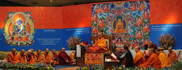Учения Далай-ламы для буддистов России пройдут в режиме онлайн